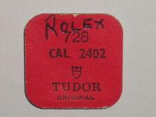 Rolex Tudor balance staff 2402 axe de balancier / Unruhwelle 728