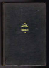 Sherwood Anderson - Dark Laughter - 1st Ed 1925 - Post American Civil War Novel