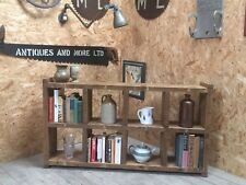 The Low Standard! Industrial Up-Cycled Pigeon Hole Shelving Unit