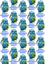Disney Stitch Personalised Gift Wrap - Lilo & Stitch Wrapping Paper