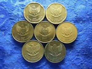 INDONESIA 500 RUPIAH 1991, 1992 KM54, 1997, 2000AU-2003 KM59 (7)