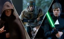 Star Wars~Episode Vi~Rotj~Luke Skywalker~Deluxe~Sixth Scale Figure~Sideshow~Mibs