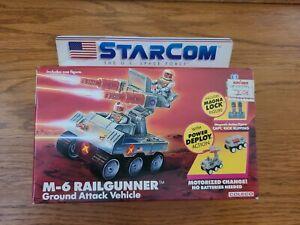 Sealed. Unpunched. Starcom M-6 RAILGUNNER. U.S. Space Force
