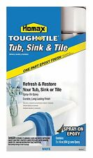 Homax  Epoxy Enamel Tub, sinks, showers and tile Spray Paint  White  32 oz.