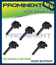 Set of 5 Ignition Coils for Volvo C70 S60 S70 S80 V60 V70 XC70 L5 UF341 C1258