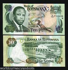 BOTSWANA 10 PULA P26 2007 PARLIAMENT BIRD ZEBRA UNC ANIMAL MONEY BILL BANK NOTE