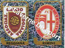 N°656 SCUDETTO # ITALIA AC.REGGIANA - FC.RIMINI STICKER PANINI CALCIATORI 2004