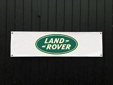 GRANDE 2 METRI LANDROVER Banner per garage / shop / l'articolo promozionale