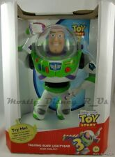"""NEW Disney Store Toy Story 3 Talking Buzz Lightyear Action Figure 12"""" Real Voice"""