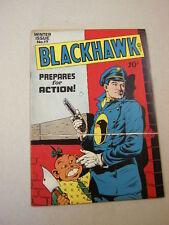 """BLACKHAWK"" #17 WINTER/1947 FINE-VF! FLAT, BRIGHT & CLEAN!"
