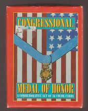 Congressional Medal Of Honor Trading Cards 1993 Boxed Set Of 36 Complete Set USA