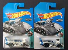 2017 Hot Wheels Zamac Dodge Charger Daytona lot of 2, ships in box