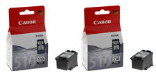 2x Original Canon PG510 Black Ink Cartridges For PIXMA MX350 Inkjet Printer