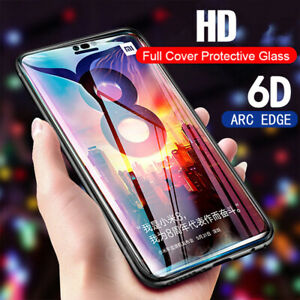 6D Premium Full Cover Tempered Glass Curved Screen Protector For Smart CellPhone