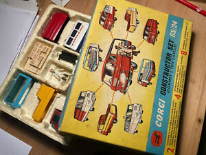 Corgi Toys Gift Set 24 Commer Constructor Set in original Box