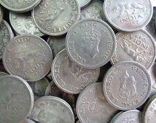 100 Coins LOT 1 Rupee - George VI 1947 Nickel – 11.8 g – ø 28 mm - British india