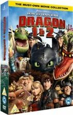 How to Train Your Dragon 1 & 2 DVD Dreamworks Animation Cartoon Comedy Kids