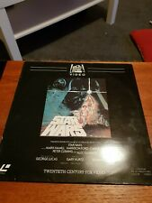 Star Wars 1977 Laservision Ced Video Disc