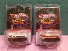 Hot Wheels VW Volkwagen T1 Drag Bus Phil's Garage (Selling Out) Lot of 2