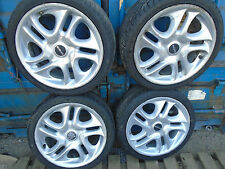 """WOLFRACE 4X 17"""" ALLOY WHEELS AND TYRES 215/40ZR17"""