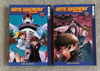 Gate Keepers Vol. 1-2 by Keiji Gotoh Manga Graphic Novel Book Lot in English