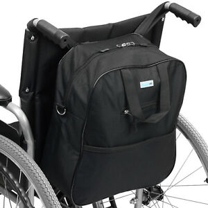 SUPPORTEC WHEELCHAIR SHOPPING BAG MOBILITY SCOOTER HOLDALL/PANNIER PRAM HANDLES