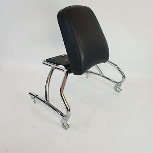 Quick Release Backrest Sissy Bar for Boss Hoss, Harley, Indian wide Motorcycles