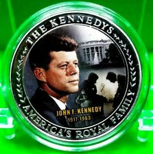 THE  JOHN F. KENNEDY FAMILY COMMEMORATIVE COIN PROOF VALUE $59.95