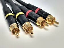 AMPLIFIER TO DAC SHORT RCA CABLES MOGAMI NEGLEX GOLD 24K SCHIIT STACK
