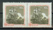 Russland Briefmarken 1965 Arktis u. Antaktis Paar Mi.Nr.3128