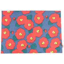 Kaya Cotton Place Mat Red Camellia Design