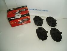 182-227  MG MGB GT FRONT DISC PAD SET OF 4 PADS  GENUINE MINTEX