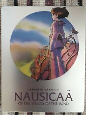 Nausicaa Valley of the Wind Limited Edition Blu Ray Steelbook Two Disc