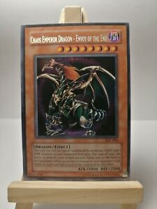 Chaos Emperor Dragon- Envoy of the End IOC-000 Secret Rare NM Yugioh