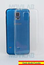 Funda carcasa gel / TPU Samsung G900 Galaxy S5 transparente ultrafina slim 0.3 m
