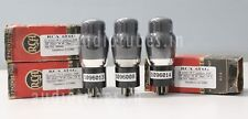 3 PCS RCA 6F6G 100% tested on Amplitrex AT1000 Sr.no #1096013, 14 & 08