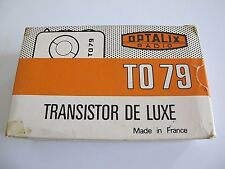 ancienne boite pour transistor de luxe Optalix TO 79 France Amiens