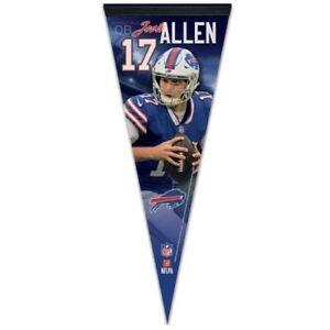 "JOSH ALLEN BUFFALO BILLS PREMIUM QUALITY PENNANT 12""X30"" BANNER NFL LICENSED"
