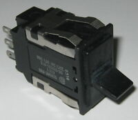Honeywell AML 20 Paddle DPDT ON-ON Panel Mount Switch - 125 V AC/DC - 100 mA