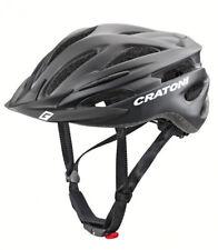 Cratoni Fahrrad Helm Fahrradhelm Pacer (MTB) Gr. S/M (54-58cm) schwarz matt