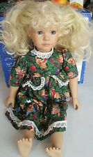 "Heidi Ott 18"" Doll Blonde Sleepy Eyes Faithful Friends"