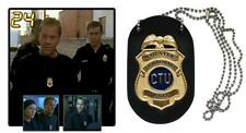 24: JACK BAUER CTU BADGE, OFFICIALLY LICENSED, BRAND NEW IN UNOPENED BOX