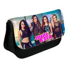 Little Mix, Black Cavas School Pencil Case Or Make-Up Bag Gift,