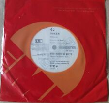 """QUEEN 45 PROMO Another One Bites The Dust  SOUTHAMERICA 7"""" 1980 Spanish Titles"""