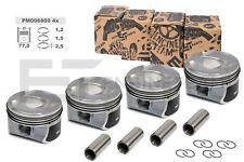 4x Kolben PM006800 Ø 77,00 mm PEUGEOT CITROEN 1,6 THP 5FX 0628.S1 Standardmaß