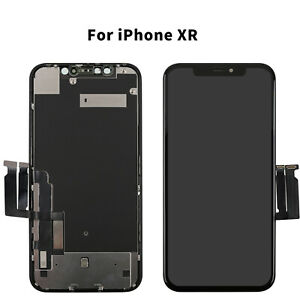 For Apple iPhone XR LCD Screen Assembly Replacement 3D Touch Digitizer Retina