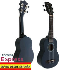 Ukelele LANAI color Negro con Diapason Palosanto Ukulele Soprano de madera Nuevo