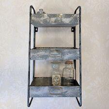 Parete in metallo stile industriale SCAFFALI Storage Rack Vintage scaffali armadietto