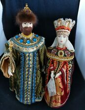 Collectors: Russian Tsar & Queen Porcelain, exquisite detailed costuming