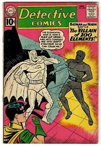 Detective Comics (1937) #294 Element Villain Aquaman Martian Manhunter Story VG